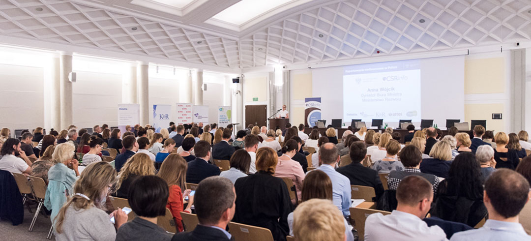 """Konferencja """"Raportowanie niefinansowe w Polsce"""" już za nami"""